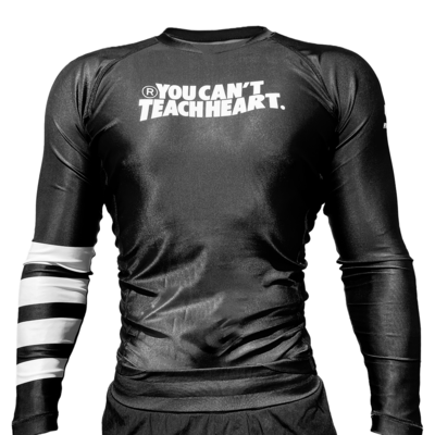 Hyperfly YCTH. Rank Rash Guard Black Long Sleeve