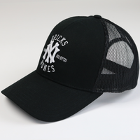 Hyperfly NYC Bricks and Bones Cap  - Black