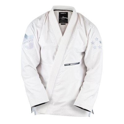 Hyperfly      StarLyte Womens Slim Cut  BJJ Gi White on White