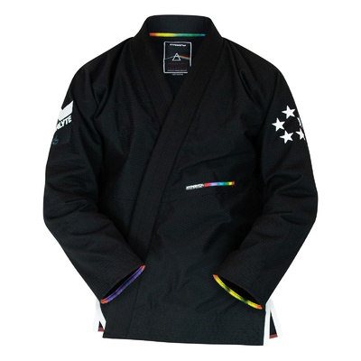 Hyperfly StarLyte II Womens BJJ Gi White on Black