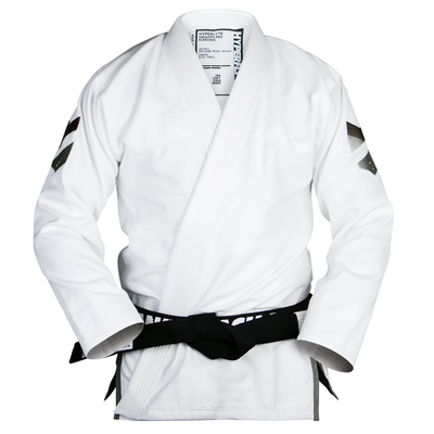 Hyperlyte       2.5  BJJ Gi White w/ Black