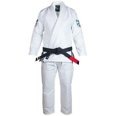 Kids    Hyperlyte BJJ Gi - White w/ Blue