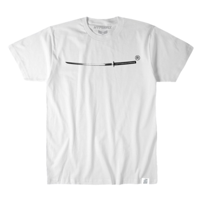 Hyperfly    Katana Kid Tee - White