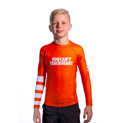 Kids     Hyperfly YCTH. Long Sleeve White Rash Guard [Size: 8]