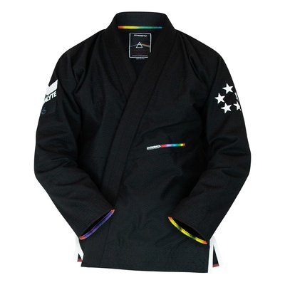 Hyperfly StarLyte ll  BJJ Gi White on Black