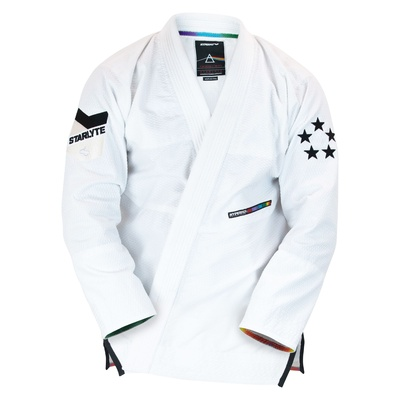 Hyperfly  StarLyte II  BJJ Gi Black on White