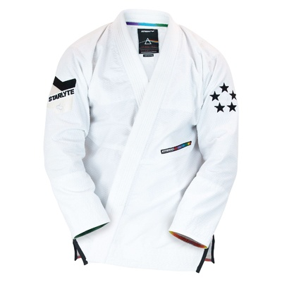 Kids   StarLyte II BJJ Gi Black on White