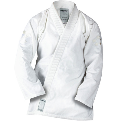 Kids      StarLyte BJJ Gi White on White