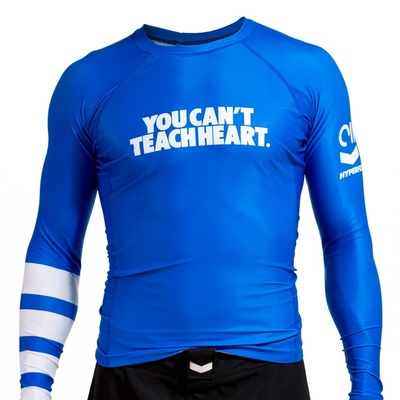 Hyperfly YCTH. Rank Rash    Guard Blue Long Sleeve